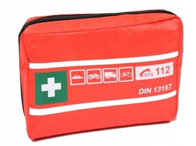 мини-аптечка авто + комплектация DIN 13167