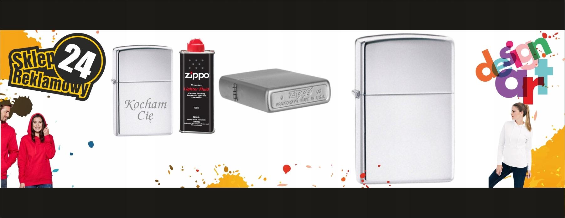 Зажигалка ZIPPO с гравировкой подарок + бензин тип бензина