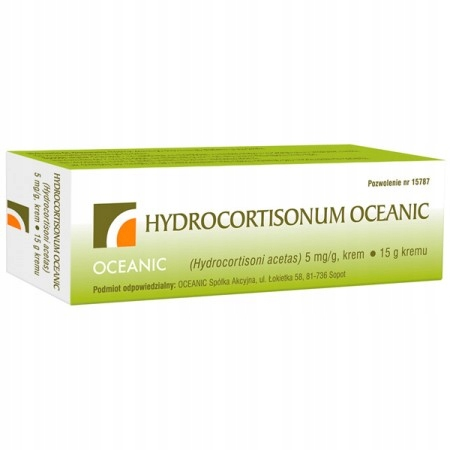 Hydrocortisonum 0,5% krem 15 g uczulenie alergia