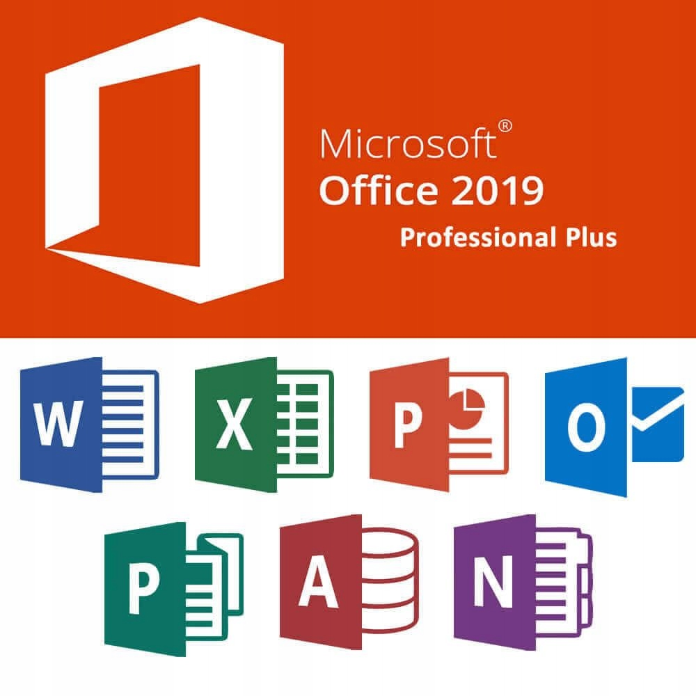 Ключ Microsoft Office 2019 Professional Plus PL
