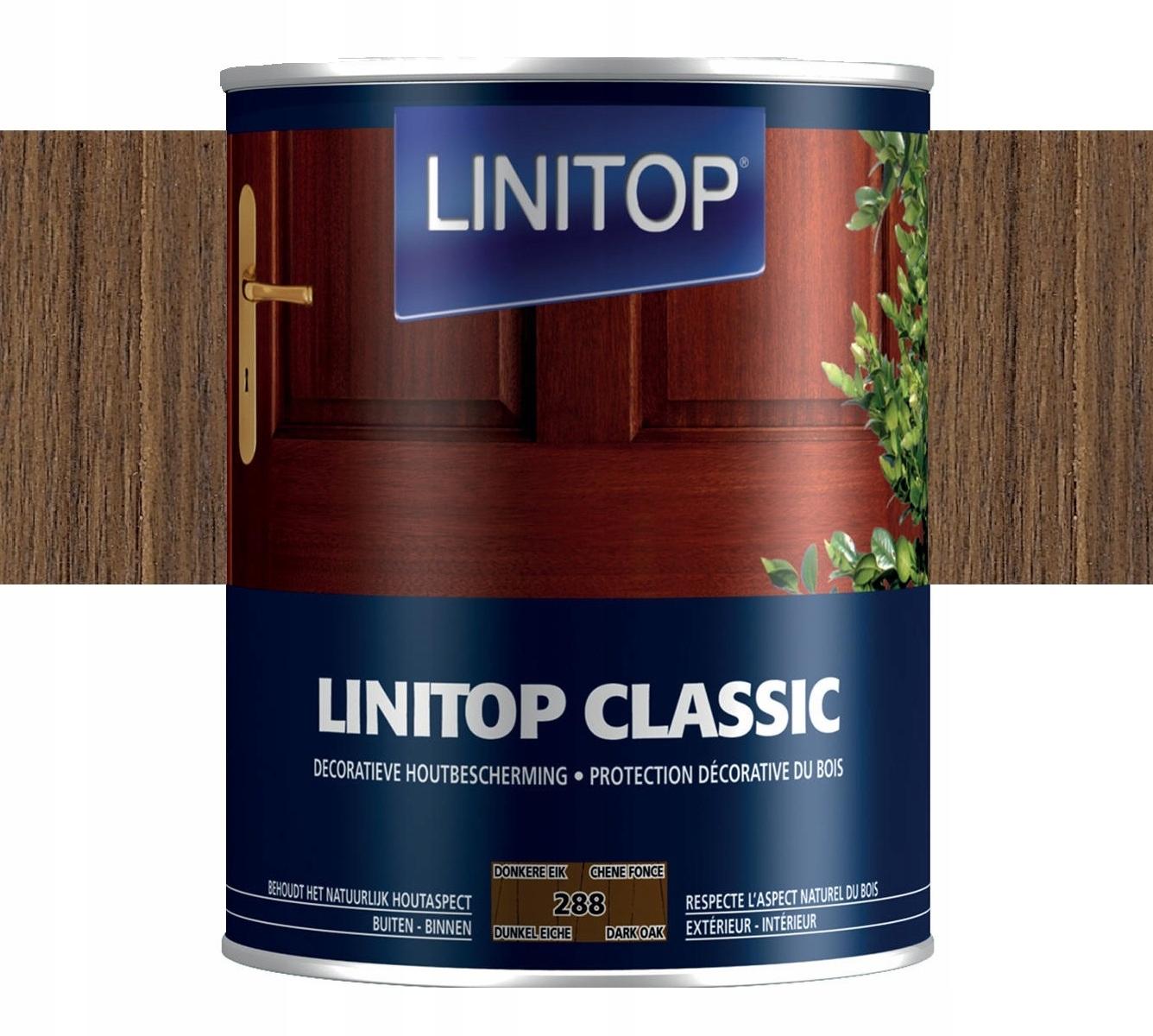 Lokobeyz LINITOP CLASSIC 5 litrov TMAVÝ DUB
