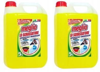 Meglio Spray Uniwersalny Odtłuszczacz 2 x 5 l