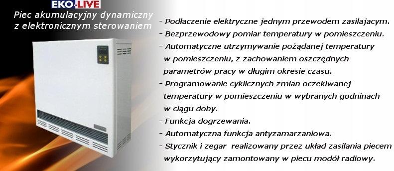 bezdrôtový akumulačný ohrievač jednoduchá inštalácia 2 kw