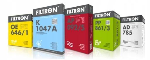 vw passat b6 2 0tdi комплект фильтры filtron углем