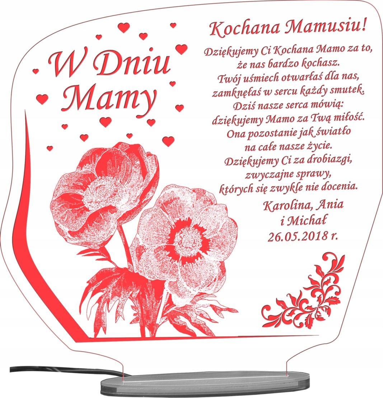 День Матери у Нас подарок статуэтка led доставка товаров из Польши и Allegro на русском