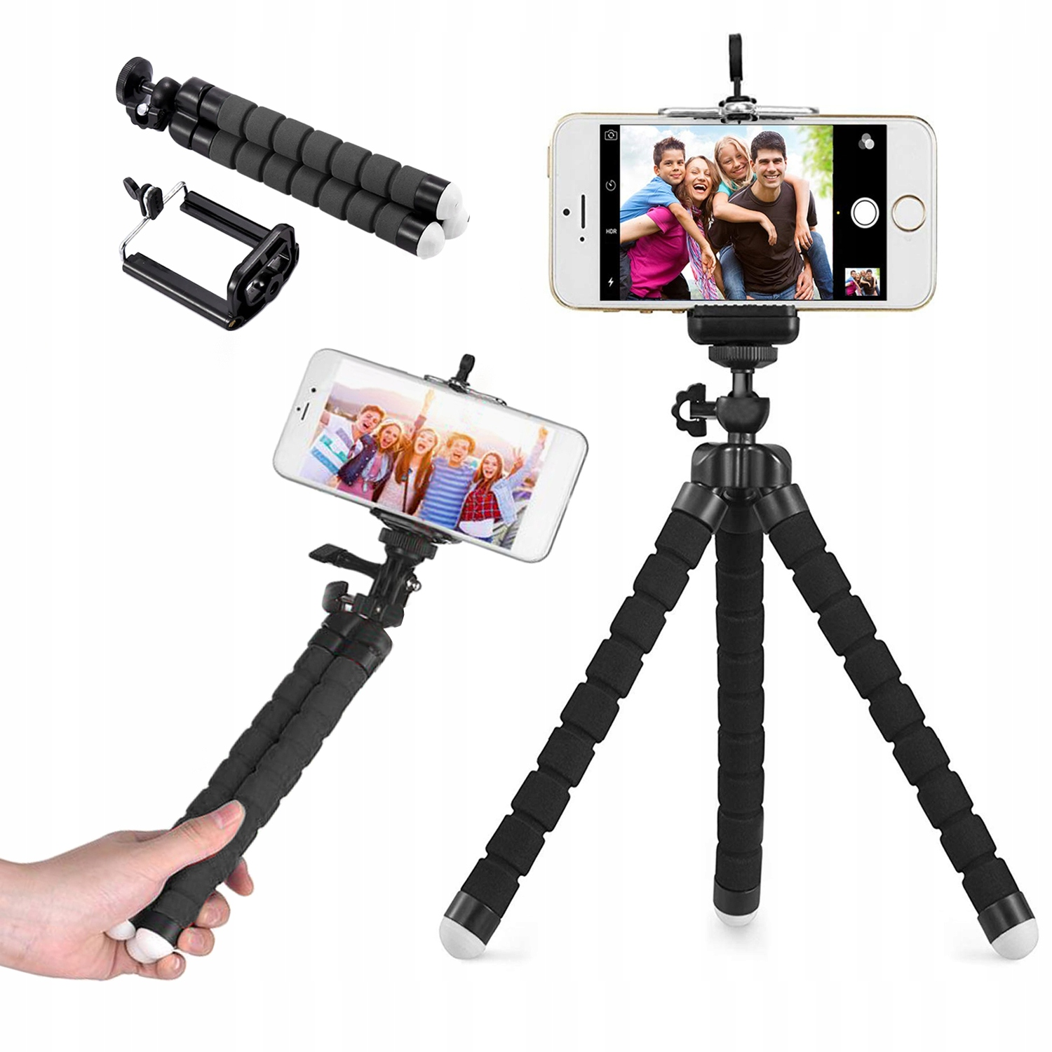Item THE SELFIE STICK TRIPOD TRIPOD HOLDER PHONE