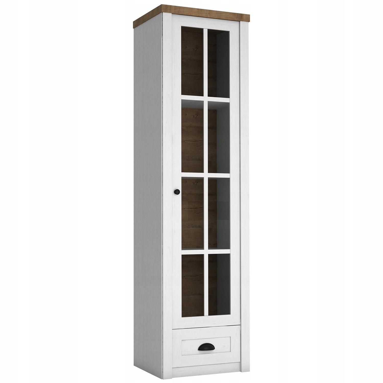 Provensálska 1-dverová zobrazovacia jednotka. Retro štýl