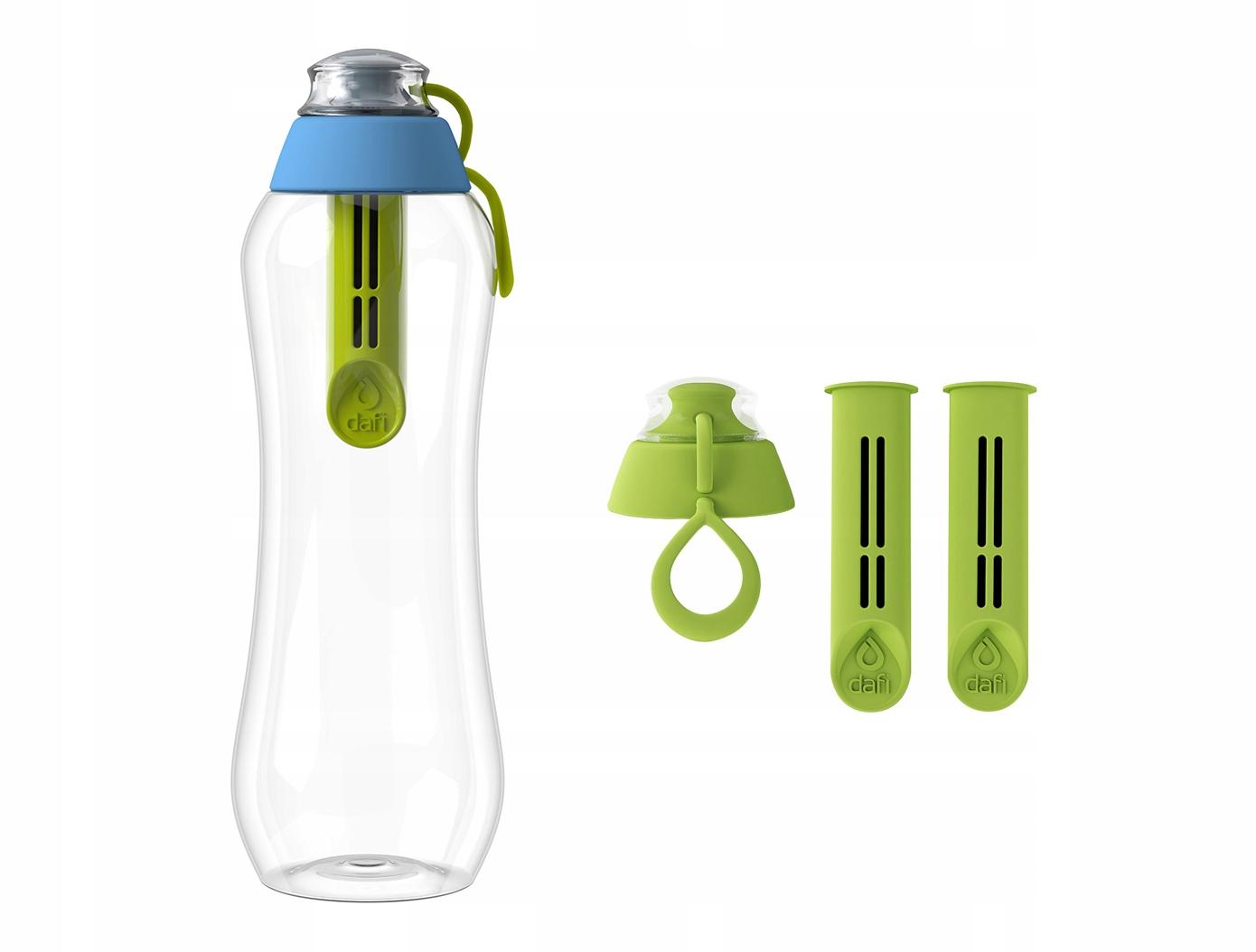 Limitowana butelka filtrująca DAFI 0,5L + 3 filtry 8772778122 - Sklep internetowy AGD, RTV, telefony, laptopy - Allegro.pl