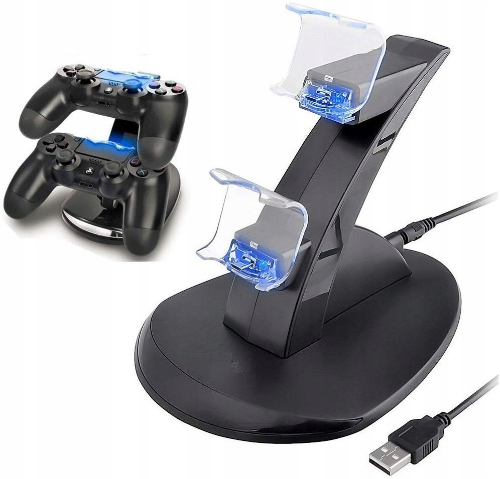 Item Charger dock Station 2 x pad for PS4 controller