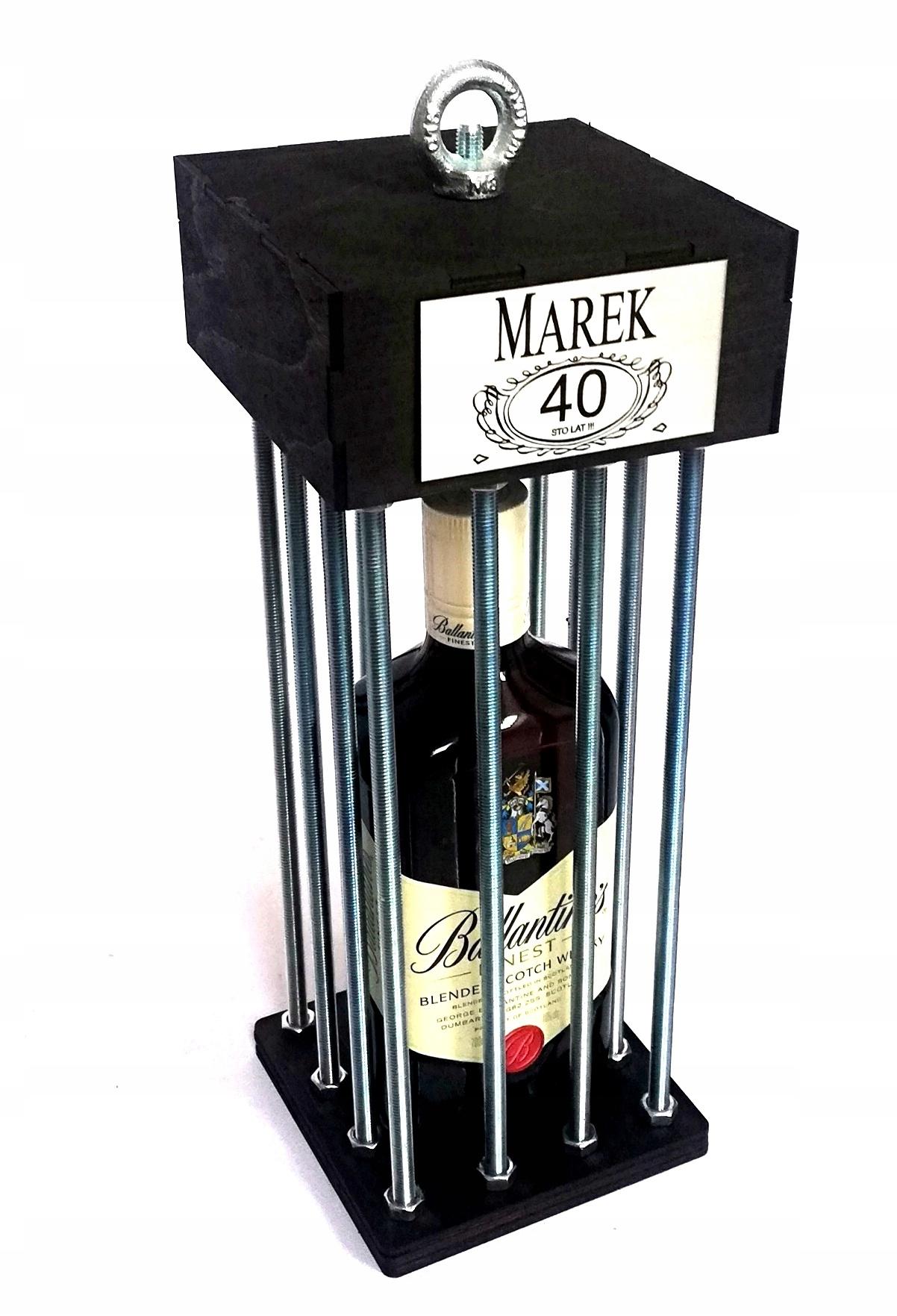 Klatka alkohol prezent urodziny 20 30 40 50 18