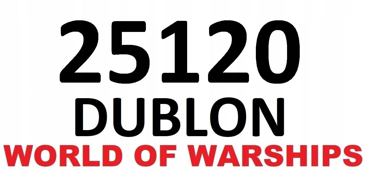 Купить 25120 DUBLON WOT WORLD OF TANKS WARSHIPS на Otpravka - цены и фото - доставка из Польши и стран Европы в Украину.