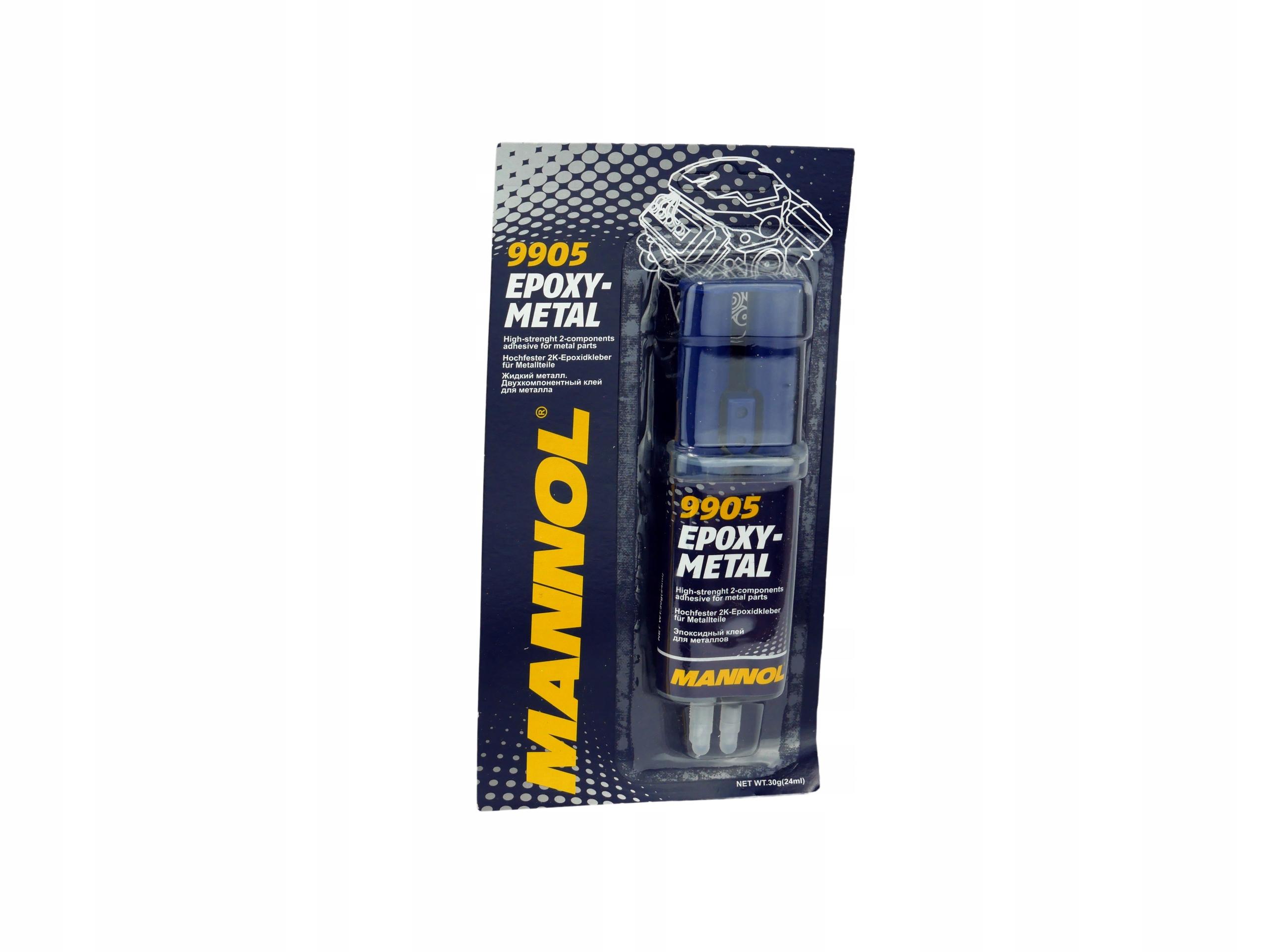 MANNOL 9905 Эпоксидный металл Металлический клей алюминий