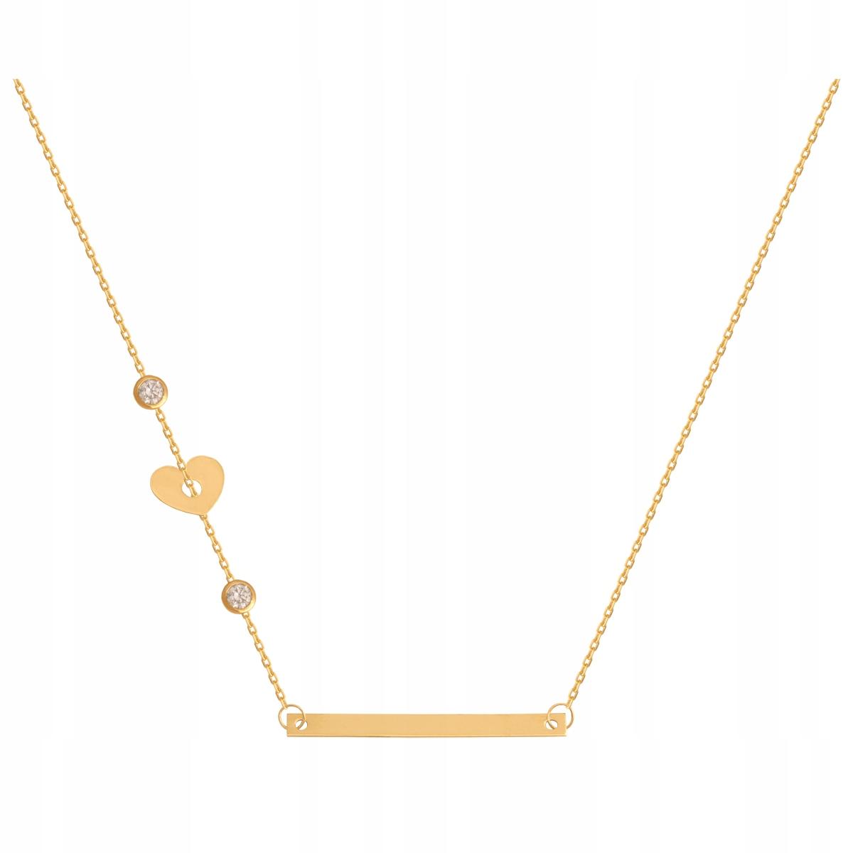 Zlatá Reťaz Prívesok 2.10 g 44 cm