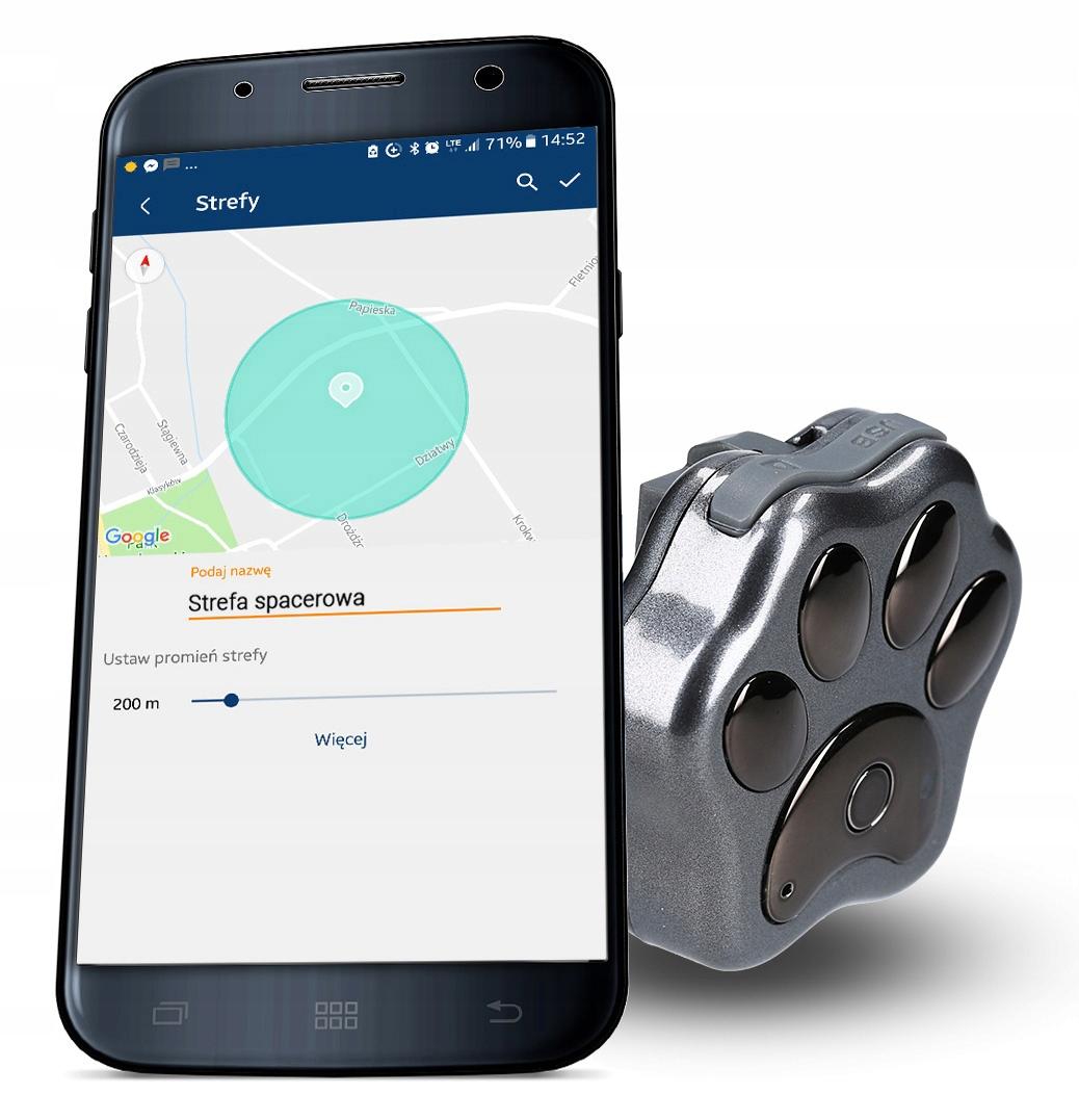 GPS-локатор для кошек и собак CALMEAN IP66 LED SIM