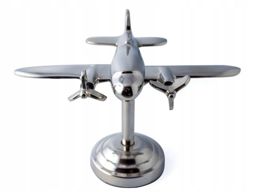 Купить Модель самолета dwusilnikowego алюминия 21x12x15cm на Otpravka - цены и фото - доставка из Польши и стран Европы в Украину.