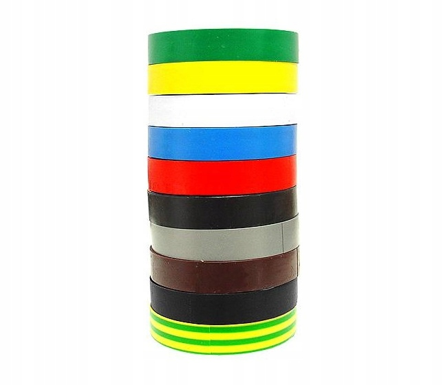 ИЗОЛЯЦИОННАЯ ЛЕНТА LEXTON РАДУГА разное цвет 25м 19мм