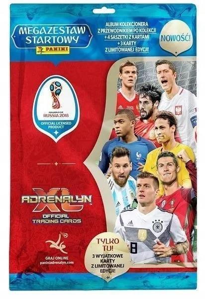 Panini FIFA Svetový pohár 2018 Rusko MEGA SET