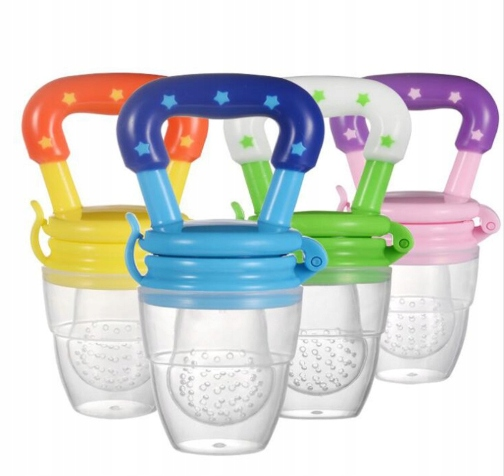 Item SILICONE TEETHER FOR FEEDING FRUIT FOOD