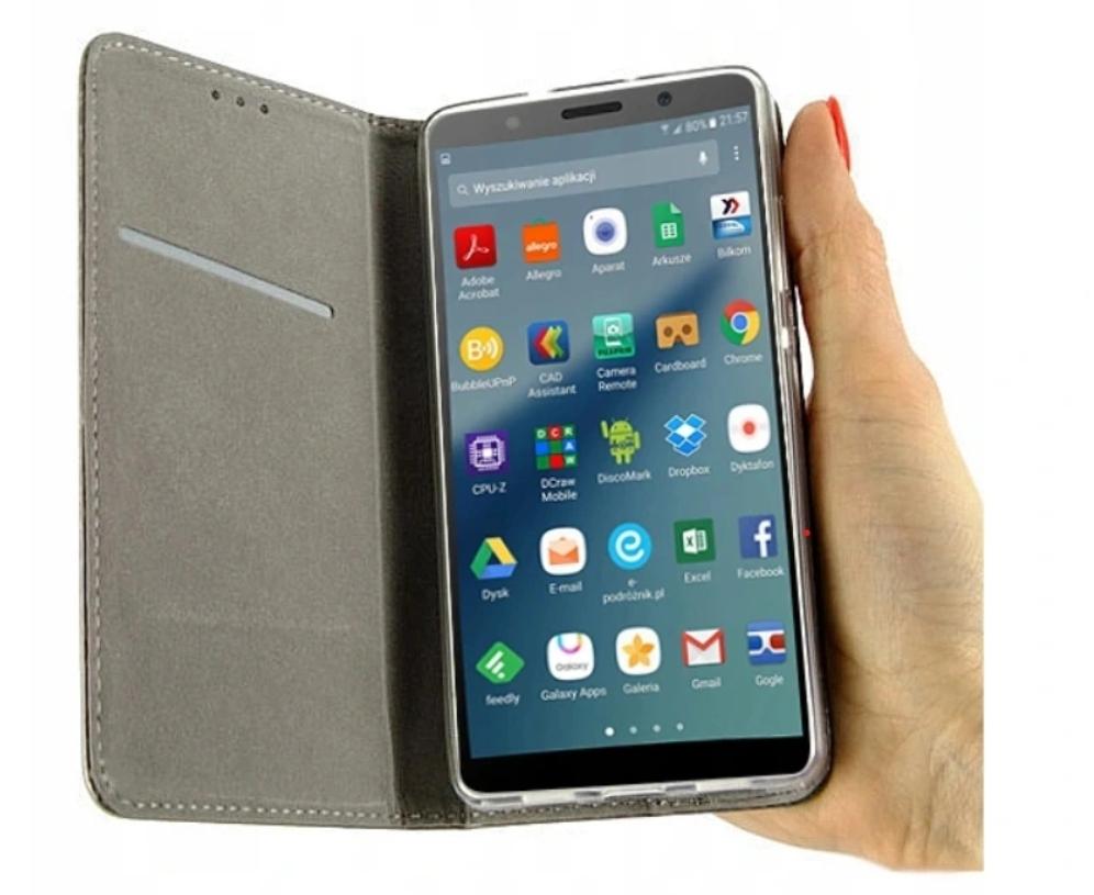 Etui do Huawei Y5 2018 Magnet Case + Szkło 9H Kod producenta G40