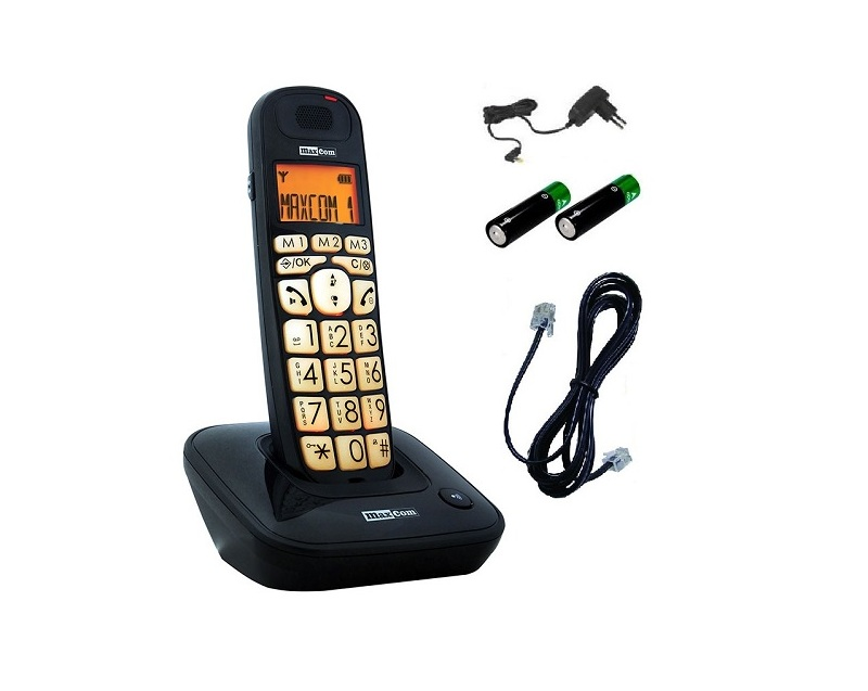 Item MAXCOM MC6800 - WIRELESS LANDLINE PHONE