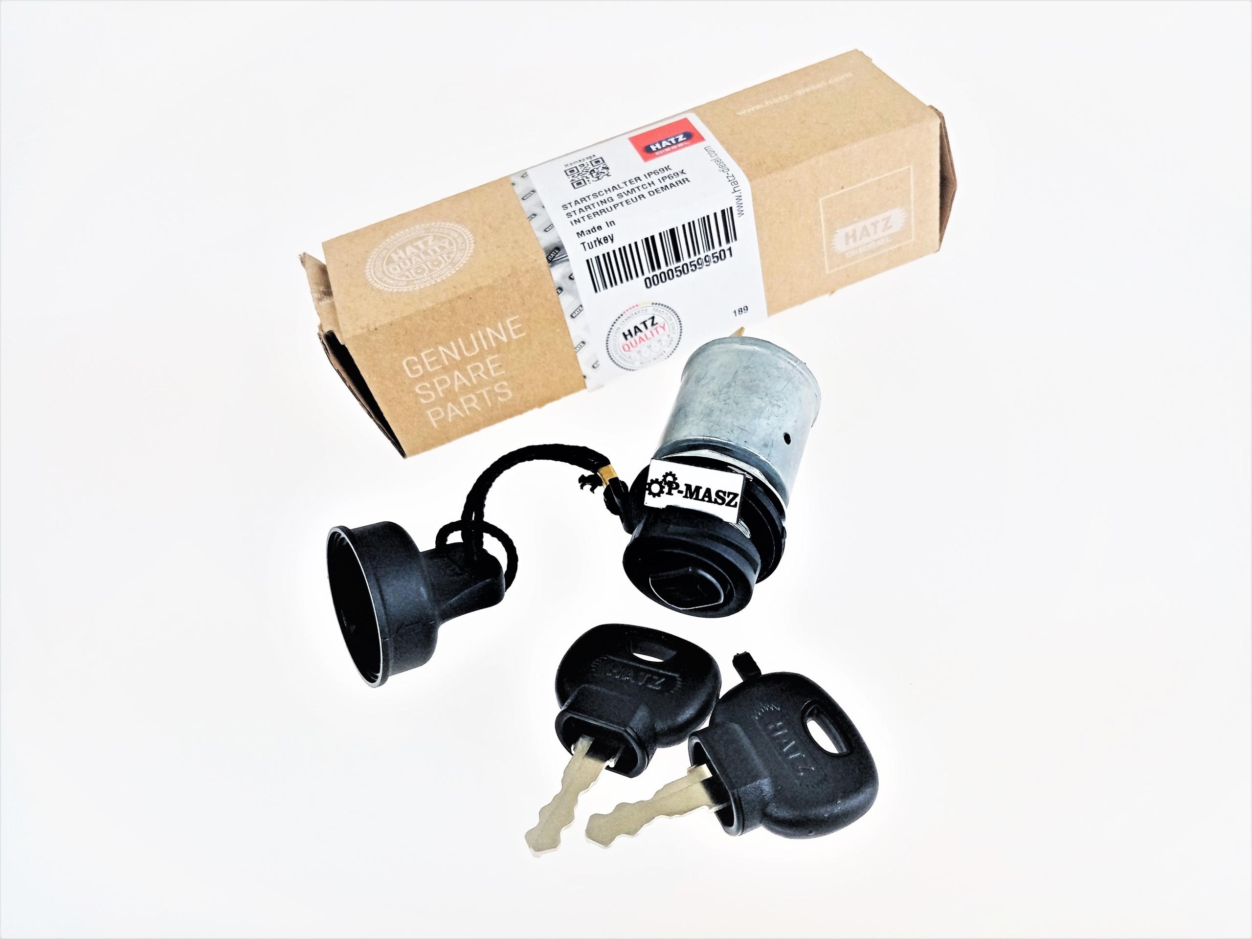 Hatz 1B20 1B27 1B30 Ключевой выключатель 50599501