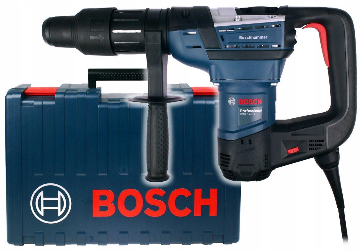 МОЛОТОК GBH 5-40 D BOSCH патрон SDS-MAX, класс 5кг