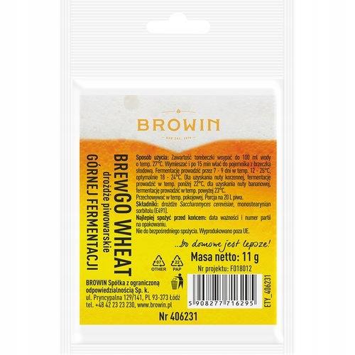 Пивные дрожжи BREWGO Wheat Browin