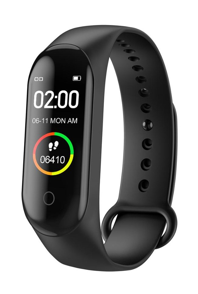 SMARTBAND Mi BAND M4 SMARTWATCH МУЖСКИЕ ЧАСЫ + СМС
