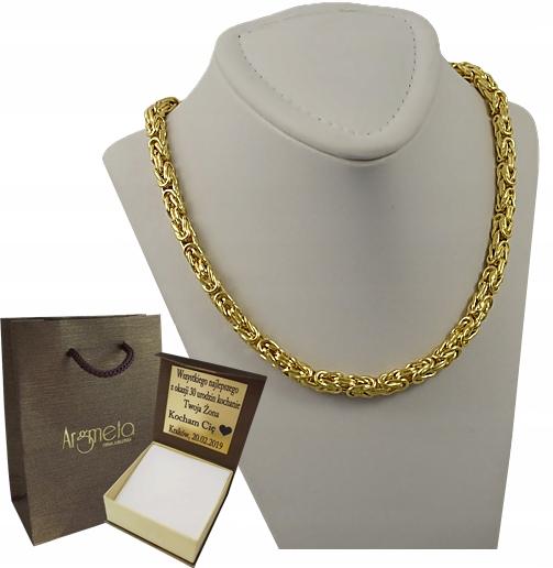 Item GOLD chain WEAVE ROYAL pr. 585 + ENGRAVER !