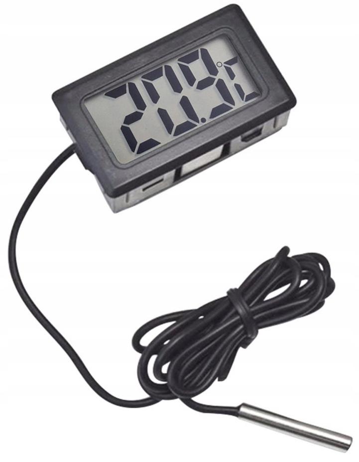 Электронный термометр с зондом, ЖК-цифровой печи
