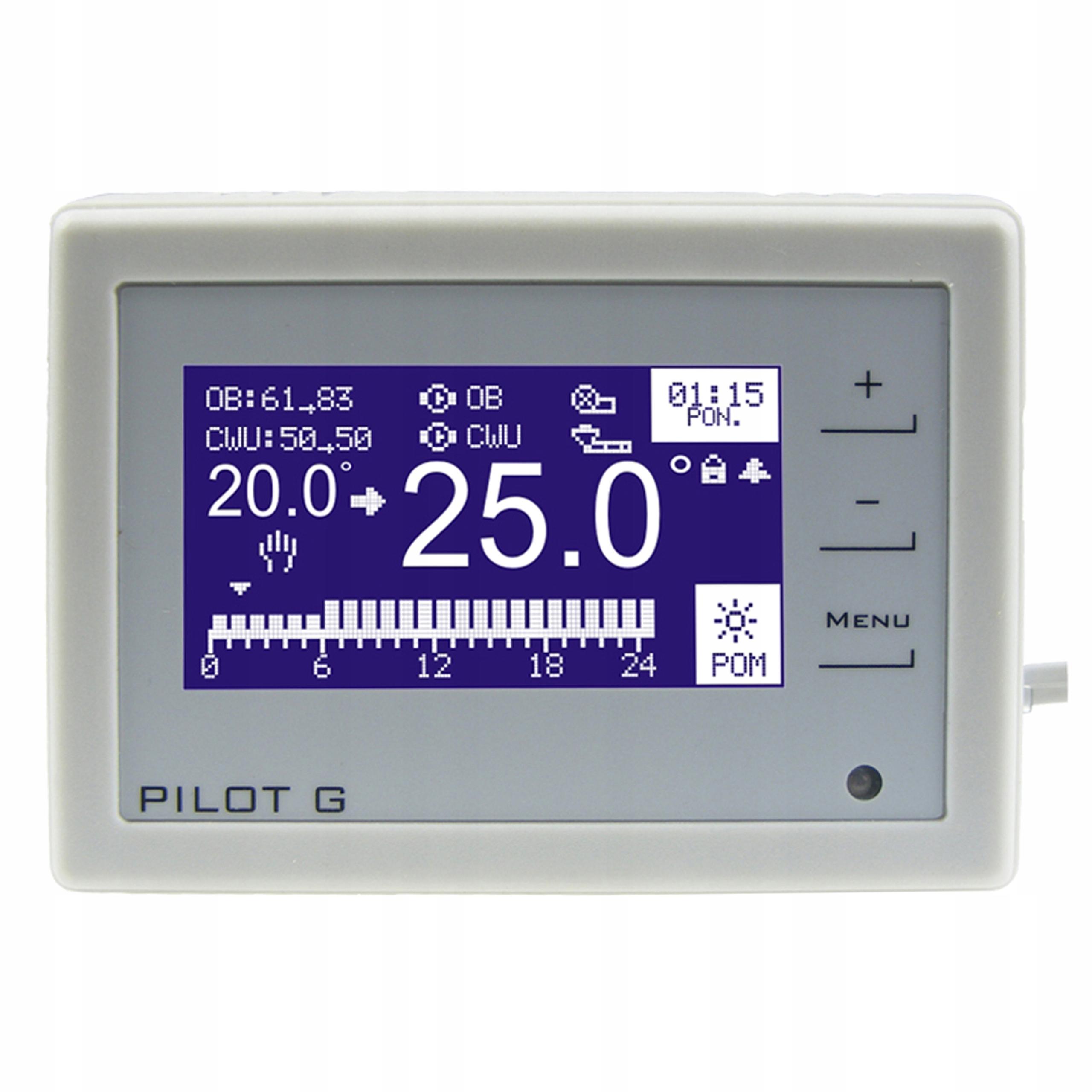 Panel pokojowy PILOT G termostat pokojowy od DOMER