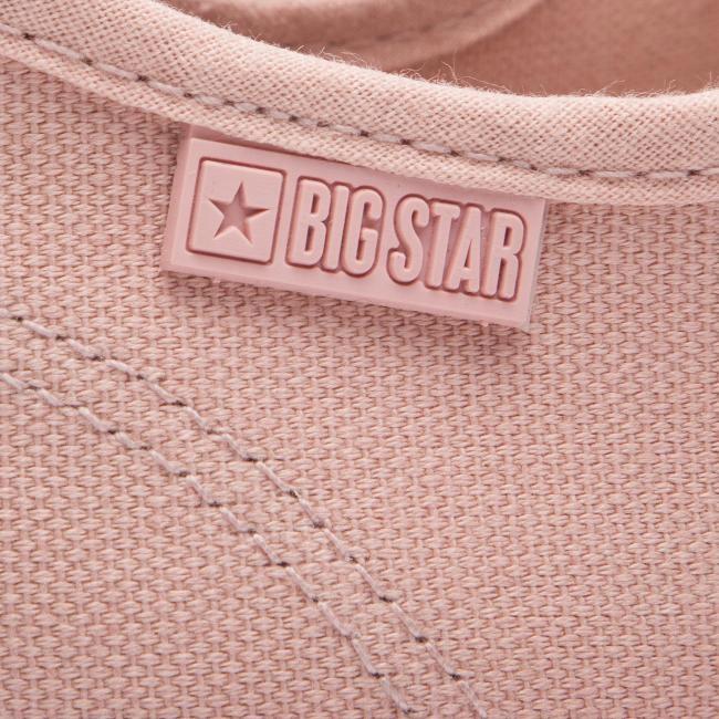 Trampki BIG STAR DD274812 Różowe Damskie Metal 40