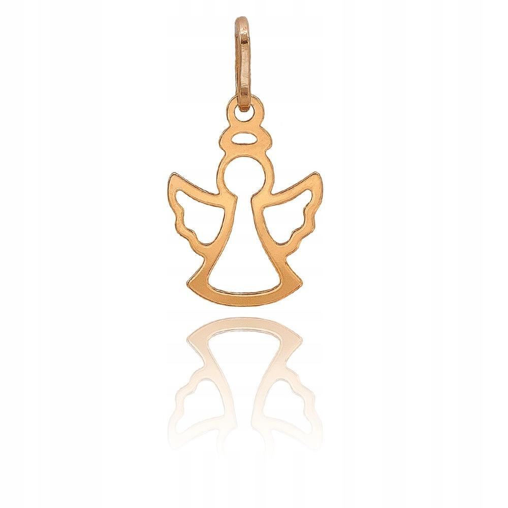 Item Gold ANGEL pendant hallmark 585