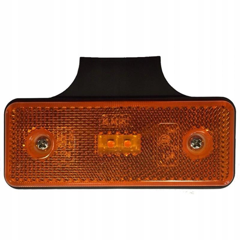 лампа габаритный led оранжевый 1224v obrysówka i