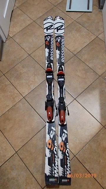 Narty zjazdowe Rossignol SL 166cm.Poznan prywatne