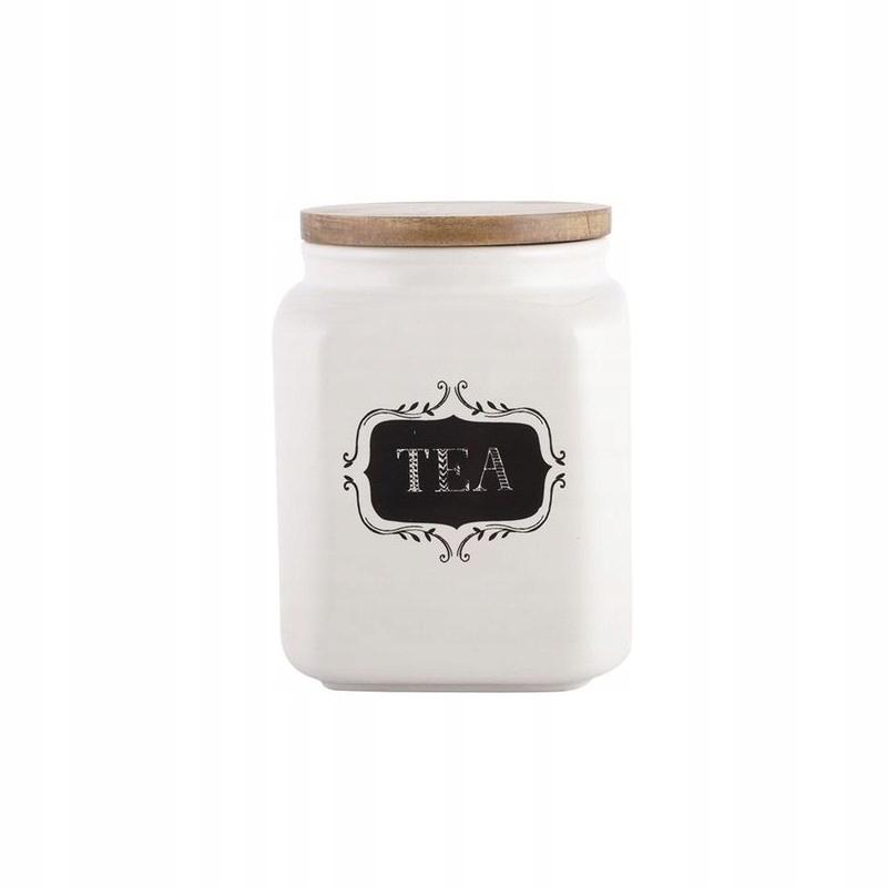 Kontajner na čaj retro Tvorivé Vrcholy ČAJ