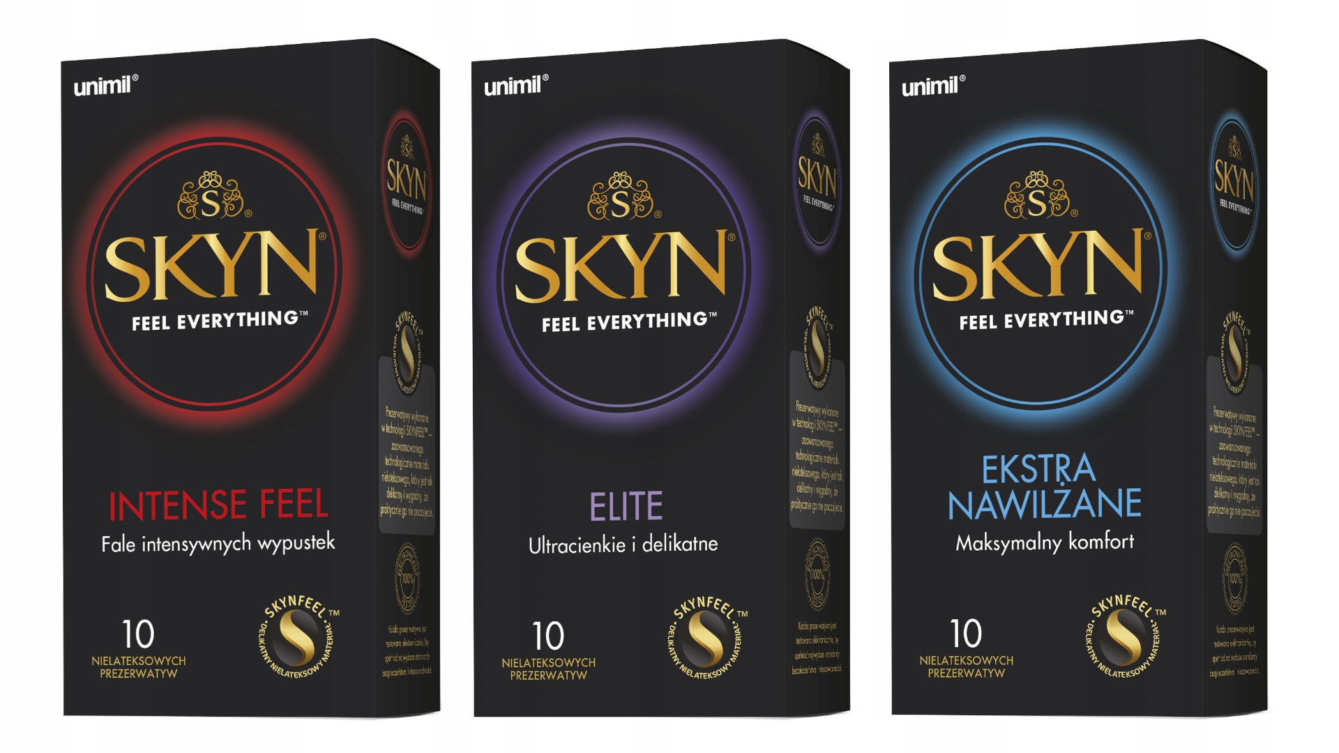 Item Condoms Unimil Skyn Set Of 30 Different Types