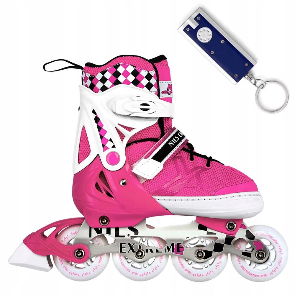 Nastaviteľné korčule NA13911 39-42 Detské kolieskové korčule R