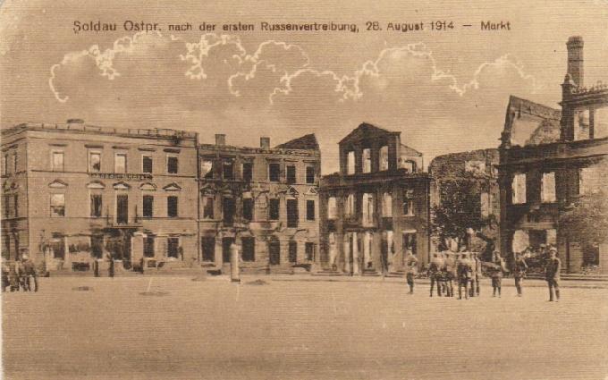 Купить SOLDAU OSTPR. [ДЗЯЛДОВО] NACH DER... ПОСЛЕ 1914 на Otpravka - цены и фото - доставка из Польши и стран Европы в Украину.