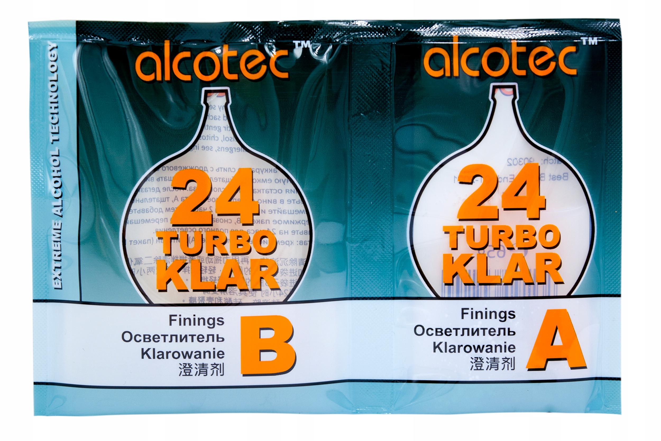 ALCOTEC TURBO KLAR 24H SET ВИНО ИЗ ДРОЖЖЕЙ