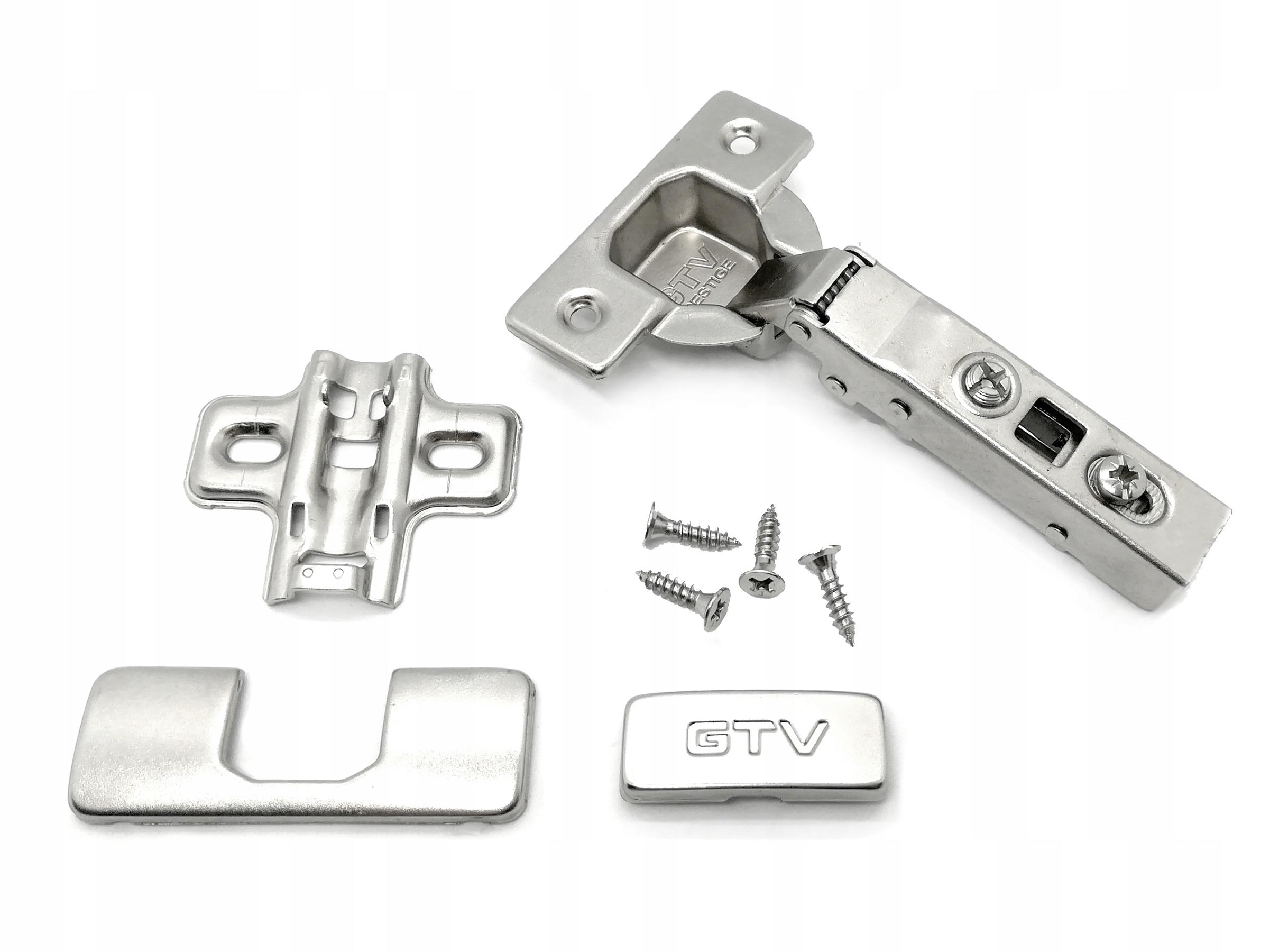 Петля накладная мебельная GTV PRESTIGE для бесшумного закрывания