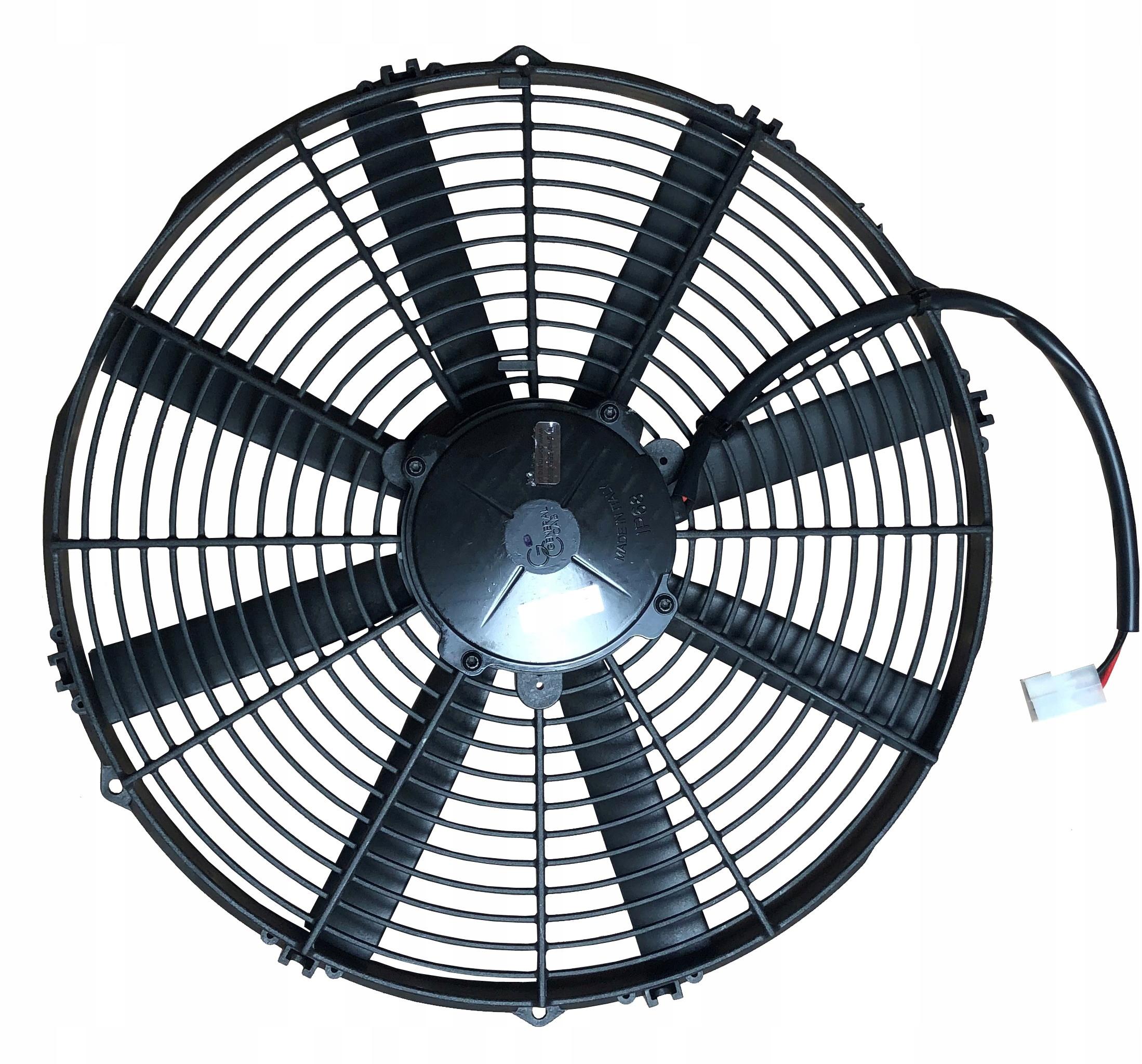 вентилятор осевой 12v 385 мм 90050409 выдвижной