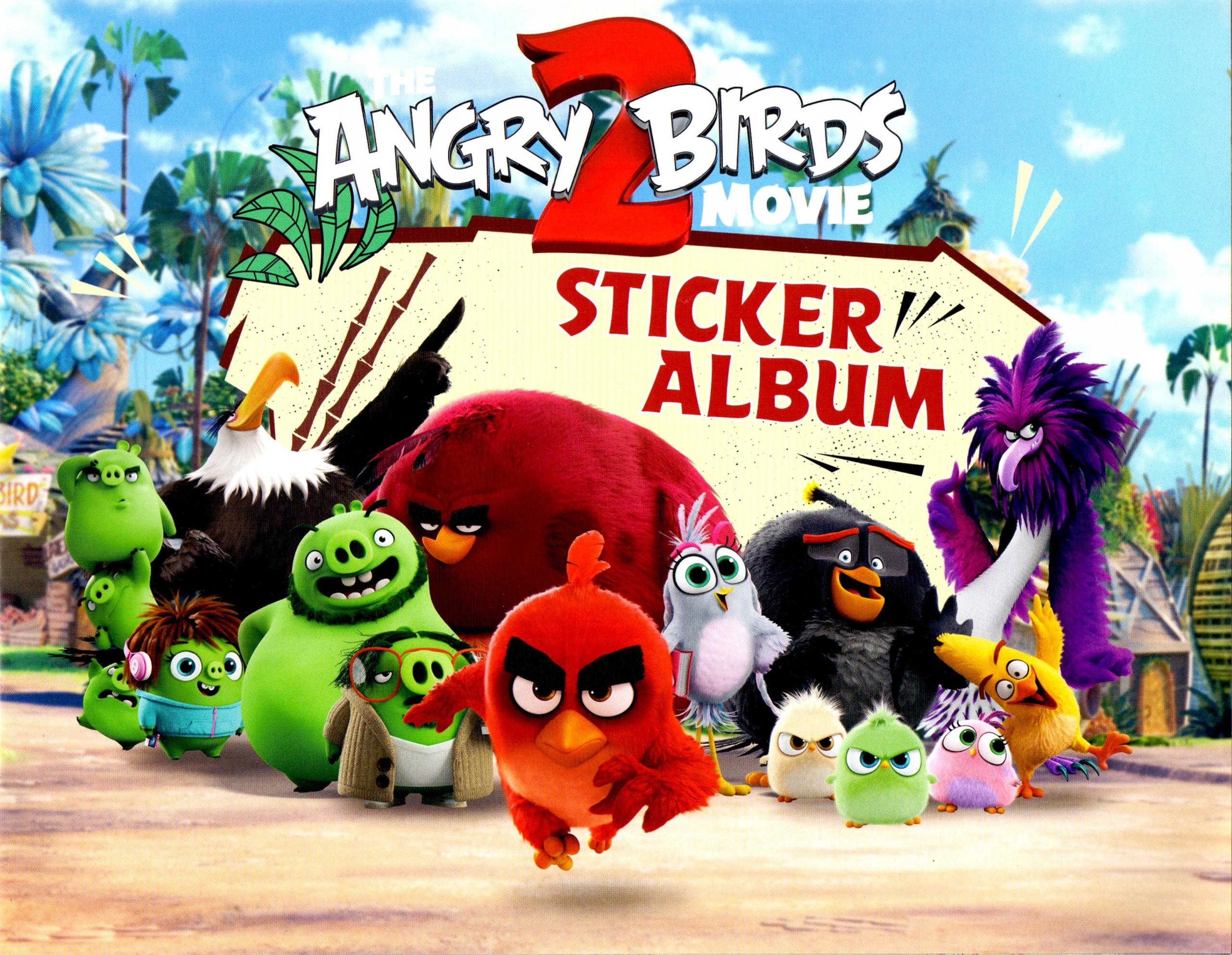 Angry Birds Movie 2 Sticker Album + 2 vrecúška