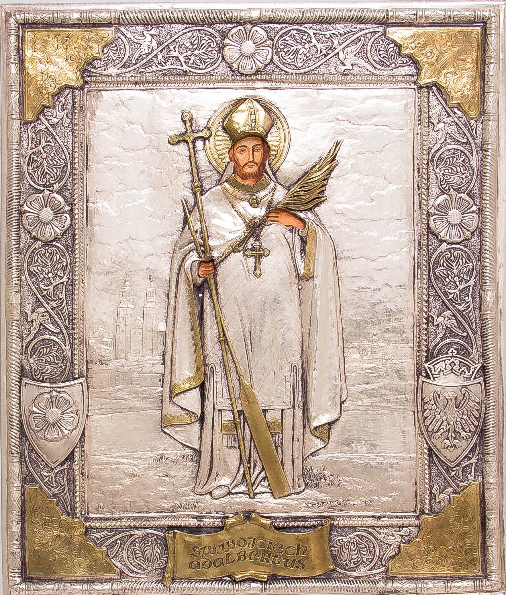Ikona Świętego Wojciecha - patrona Polski! nr 61