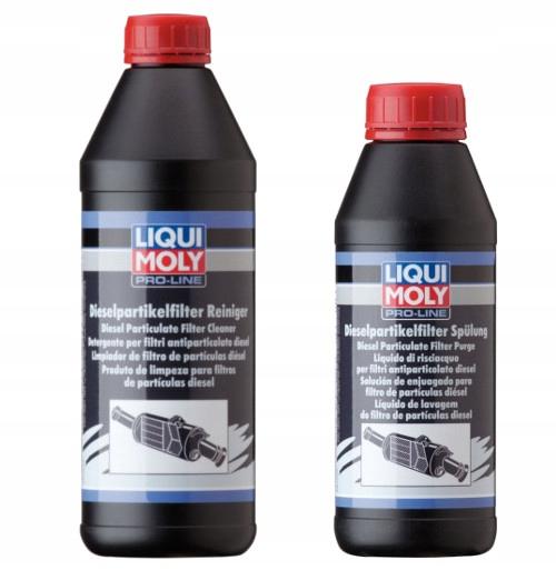Liqui Moly жидкость + лосьон для DPF FAP 5169 + 5171