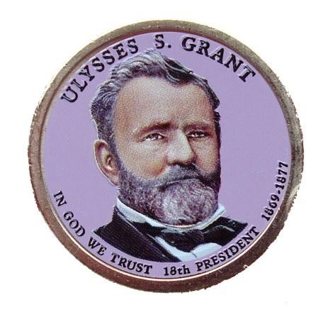 Ulysses S. GRANT 2011 - obojstranná farba