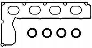 прокладка deklakolektora коллектора ford 20tdci 04-