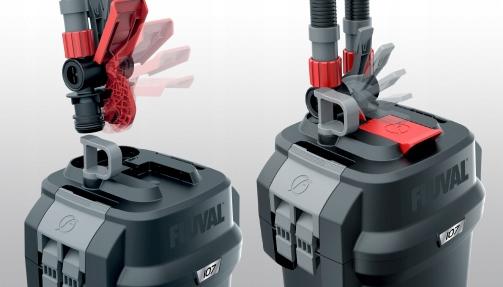 FLUVAL 207 внешний фильтр 780l / h 10W + + + бесплатно! Высота 42 см