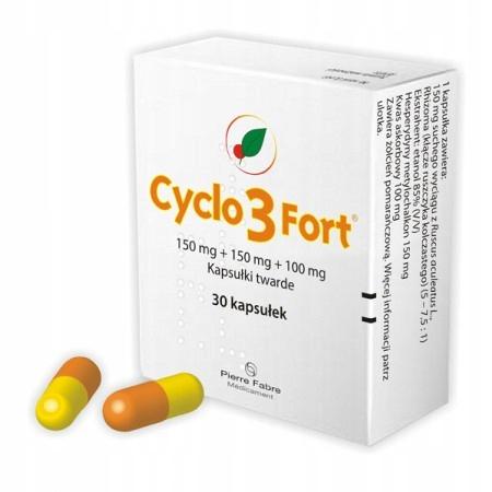Купить Цикло 3 Форт-150 мг препарат кровообращение 30 капс на Otpravka - цены и фото - доставка из Польши и стран Европы в Украину.