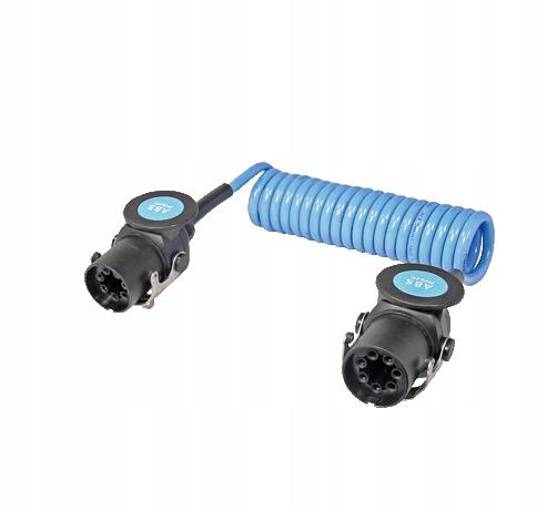 кабель спиральный абс 5pin 24v 3 5m спираль абс